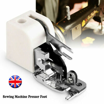 Household Sewing Machine Parts Side Cutter Overlock Presser Foot Sewing Feet UK