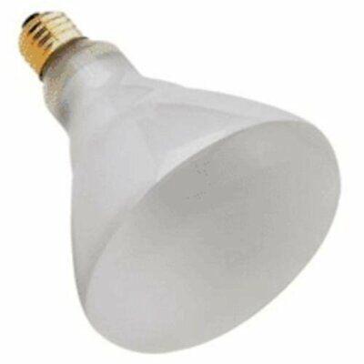 Satco S2853 - 65 watt BR40 Incandescent Bulb, Frost, Medium Base Br40 Incandescent Medium Base