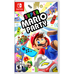 Wanted Mario Party for the Nintendo Switch