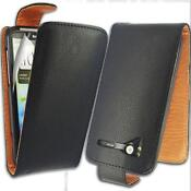 HTC Sensation Leather Flip Case