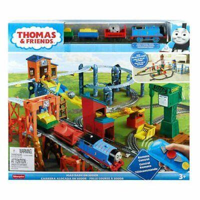 THOMAS AND FRIENDS MAD DASH ON SODOR RC TRAIN SET *DM