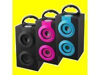 Bluetooth Sound Tower Wireless Music Radio Remote Speaker Portable Summer CHEAP