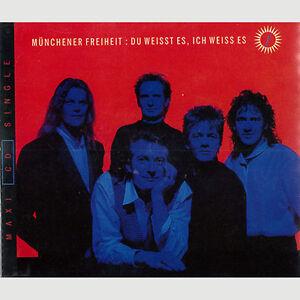 1994 (MCD) MÜNCHENER FREIHEIT / Du Weisst Es, Ich Weiss Es - <span itemprop='availableAtOrFrom'>Jennersdorf, Österreich</span> - 1994 (MCD) MÜNCHENER FREIHEIT / Du Weisst Es, Ich Weiss Es - Jennersdorf, Österreich