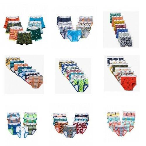 NWT Gymboree Boys Briefs Seven Pack Underwear Size 2T - 3T  4  5-6  14