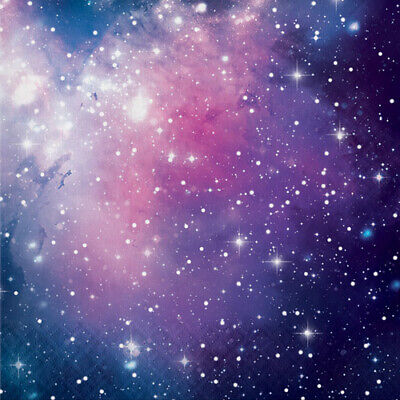 GALAXY PARTY LUNCH NAPKINS (16) ~ Birthday Party Supplies Serviettes Nebula