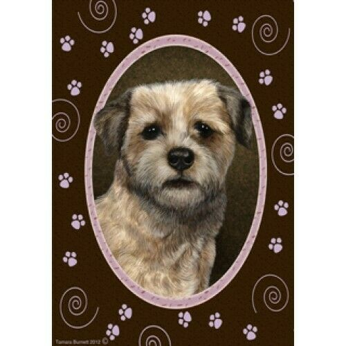 Paws House Flag - Border Terrier 17122