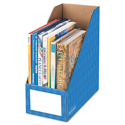 Fellowes Bankers Box Magazine File Holder Blue 3pk Fel3380801