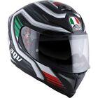 White AGV Motorcycle Helmets