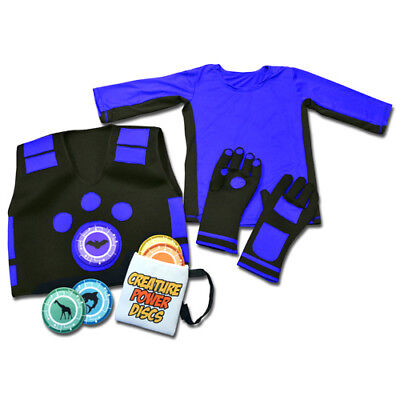 Wild Kratt Costume (WILD KRATTS CREATURE POWER SUITS WITH 5 ANIMAL DISCS (VEST,GLOVES,SHIRT &)