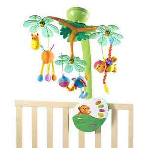 Tiny Island Sweet love baby mobile preowned