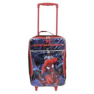 Marvel 16 inch Spiderman Amazing Pilot Case Rolling Luggage Case Carry on Approved