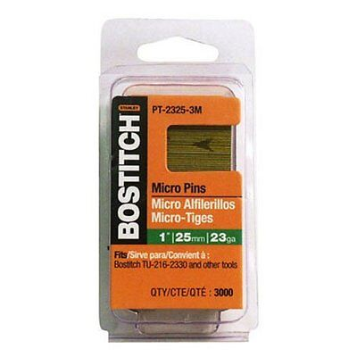 Bostitch Pt-2330-3m 1-316-inch 23 Gauge Pin 3000 Per Box