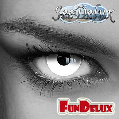Jahres Weiße farbige Kontaktlinsen