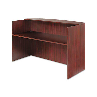 Alera Valencia Series Reception Desk with Counter - ALEVA327236MY