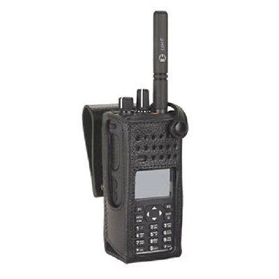 Motorola OEM PMLN5842A PMLN5842 Hard Leather Carry Case 2.5in Swivel LKP FKP