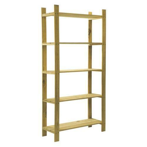 Wooden Shelving Unit Ebay