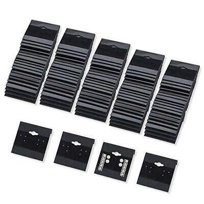 Super Z Outlet Black Velvet Plastic Display Cards For Earrings Jewelry