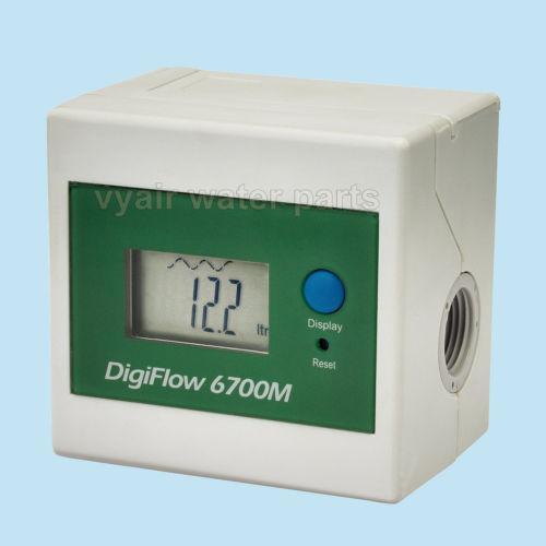 Electronic Water Meter : Digital water flow meter ebay