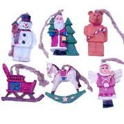 Vintage Christmas Tree Ornaments