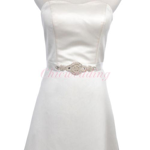 rhinestone dress belt ebay