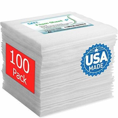 100 Pack Foam Sheets Dat 12x12 116 Thick Foam Wrap Cushioning Material