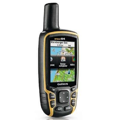 Garmin GPSMAP 64 GPS Rugged Outdoor Handheld Hiking Navigator Receiver