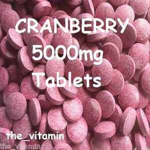 CRANBERRY-5000mg-60-TABLETS-1-or-2-per-day-L