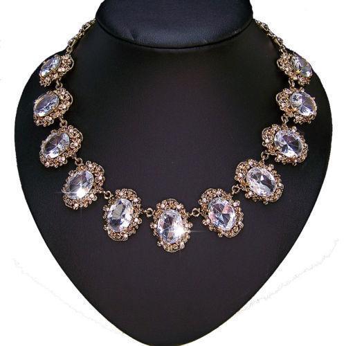 Antique Gold N Jadtar Set: Antique Gold Necklace