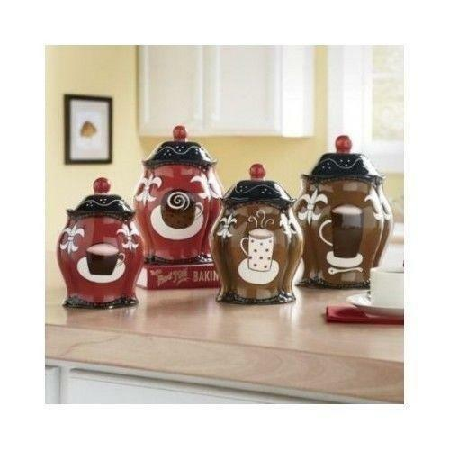 kitchen canisters ebay ceramic kitchen canisters ebay