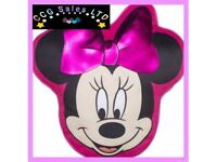 OFFICIAL DISNEY MINNIE MOUSE SHAPED CUSHION