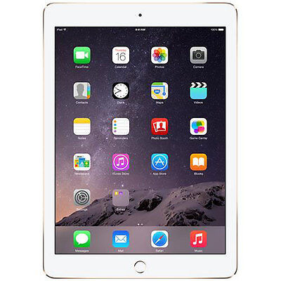"Apple iPad Air 2 9.7"" with Retina Display 16GB MH0W2LL/A Gold"