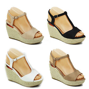 WOMENS-LADIES-PLATFORM-PEEP-TOE-WEDGE-HEEL-SANDALS-ESPADRILLES-SHOES-SIZE-3-8