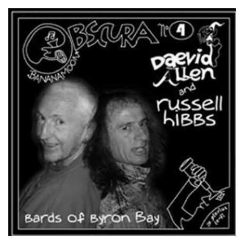 Daevid Allen & Russell Hibbs Bards Of Byron Bay CD NEW SEALED  Ltd Edition Gong
