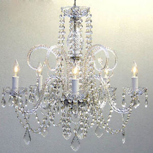 Authentic Crystal Chandelier Chandeliers Lighting H25