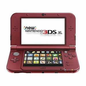 BRAND NEW NINTENDO 3DS XL+NEW AC ADAPTER WARRANTY