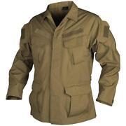 Beige Military Shirt