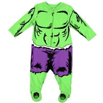 Boy Hulk Costume (NEW BABY BOY HULK COSTUME DRESS UP COVERALL  - 0/3, 3/6, 6/9)
