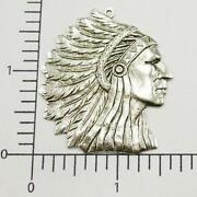 Indian Head Charm