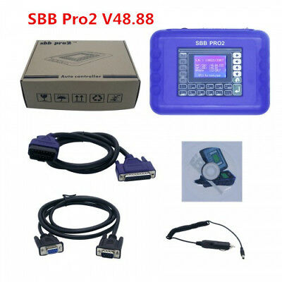 Best V48.88 SBB Pro2 Key Programmer Support Cars to 2019.1 Replace SBB