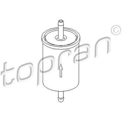 TOPRAN Original Kraftstofffilter 201 621 Opel Astra