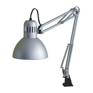 IKEA TERTIAL Arbeitsleuchte Lampe Schreibtischlampe Arbeitszimmer Leuchte SILBER