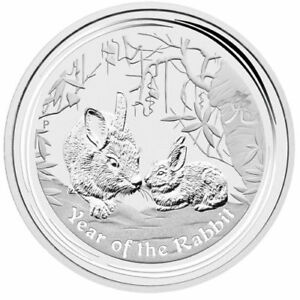2011 Rabbit 1oz Perth Mint Coin