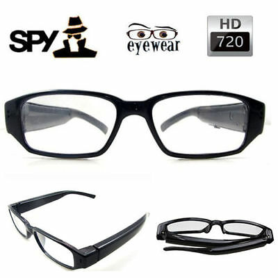 Camera Hidden Digital Eyewear Spy Glasses Cam DV DVR Video Camcorder HD 720P US