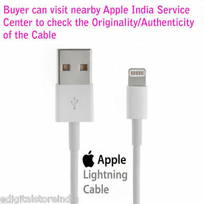 Original 8 PIN Lightning APPLE Usb Data/Charge Cable iPhone 5/5s/6s/6+ iPod iPad for sale  DELHI