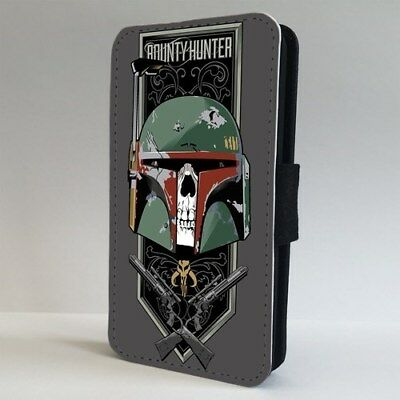 Boba Fett Star Wars Space Galaxy FLIP PHONE CASE COVER for IPHONE SAMSUNG
