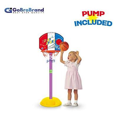 GoBroBrand Toddler Basketball Hoop - Kids Easy Sc](Toddler Basketball Hoop)