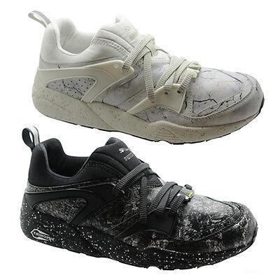 promo code 6ffd2 08f46 Details about Puma Trinomic Blaze Of Glory Roxx Mens Trainers Lace Up Shoes  Black 359961 B28D