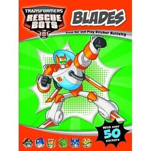 Transformers Rescue Bots Chase - press out and play sticker activity