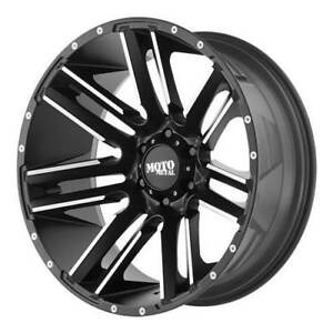 "Moto Metal 20"" Wheel Set Dodge Ram 1500 MO978 Razor 20x10 Wheels Rim 5x139.7 -24mm 20 Rims"