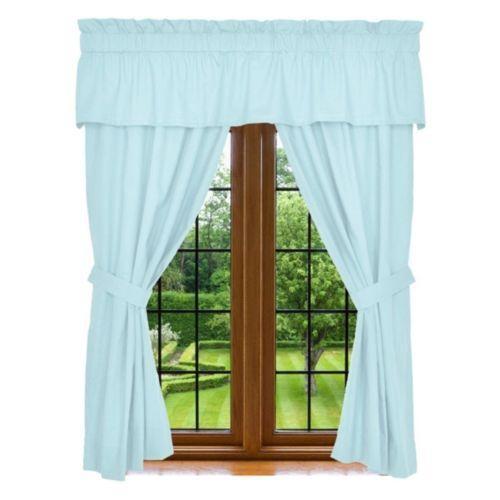 Aqua Curtains Ebay